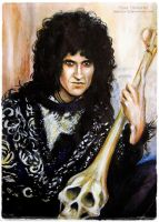 Brian  May by MeduZZa13