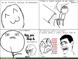 Rage comic - RESPONSECEPTION by mindfreakdemon
