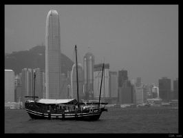 Hong Kong Bay by clairwitch