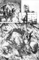 DARK AGES-pencils-Pg01 by RONJOSEPH-ARTIST