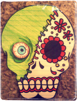 sugar skull number 2 by KiroKitty