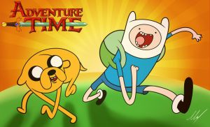Finn And Jake by MartinsGraphics