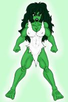 She-Hulk of the Ages - Savage by CycKath