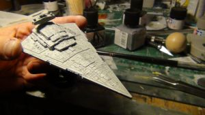 Mini Star Destroyer 014 by THE-WHITE-TIGER