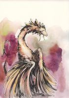 Feathers :watercolor: by Seiga
