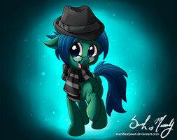 Detective Swiftnote (commission) by StarshineBeast