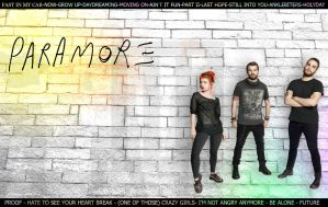 Paramore WALLPAPER by LelloGneh