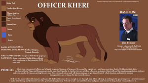 Officer Kheri Character Sheet by Kobbzz