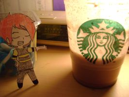 Gee and starbucks by Chem-Girl95
