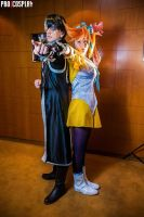 Simon and Athena - Ace Attorney Dual Destinies by Elanor-Elwyn