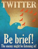 Twitter, Be Brief by skullx