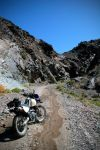 Death Valley Moto and Stream by TinyCueCard