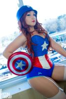 pinup cap by CanteraImage