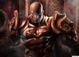 god of war 2 by mephistotheles999