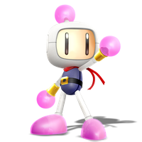 Smashified Style Bomberman! Render of 2/4 by Nibroc-Rock