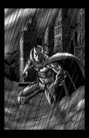 Batman City grey colors by ErikVonLehmann