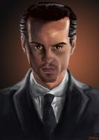 Jim Moriarty by Xedotic