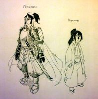 the life of the Dragon- Makiakuro and Hideyoshi by twisted-wind