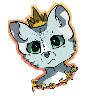 Queen Froste Badge by Frostdance89