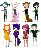 adoptables-COLLAB by hebe-goddess