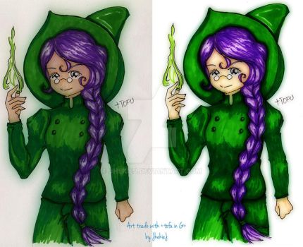 Green Witch by JhekieJ