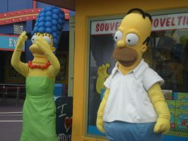 Homer and Marge by NESToperative