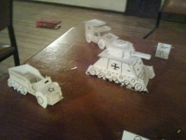 Paper Armored Forces by Shabazik
