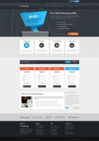 Web Hosting Template by ICEwaveGfx