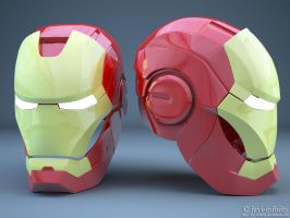 Iron Man by jevi-infinity