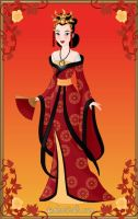 Imperial Beauty Mulan by LadyAquanine73551