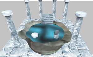 MMD Water Shrine DL by amiamy111