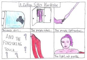 Zeltron Sith Wardrobe by RilwenShadowflame