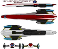 G.F.A. diplomat transport Odyssey by bagera3005