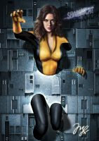 Shadowcat from X-men by Maryneim