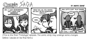 Couple SAGA prototype 01 by mayuzane
