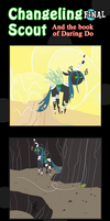 Changeling Scout And The Book Of Daring Do Final by vavacung