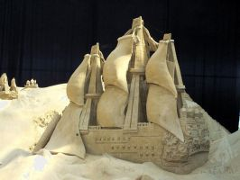 sand sculpture VII by soho-power