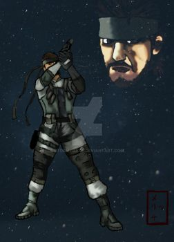 Solid Snake by stormygate