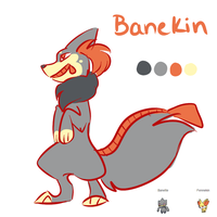 Pokefusion Adopt~ Banekin (CLOSED) by WingedLeopard