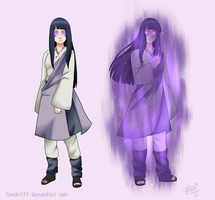 Hinata Tenseigan Power commission by shock777