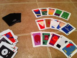 My minimalist playing cards by neilkristian