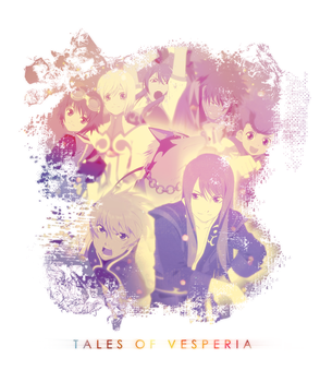 Tales of Vesperia Poster by aldimon