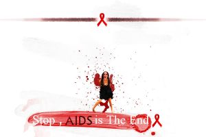 STOP , AIDS is The END by charming973