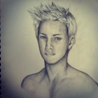 Drawing of Cato From Hunger Games by DontEatMyPiexD