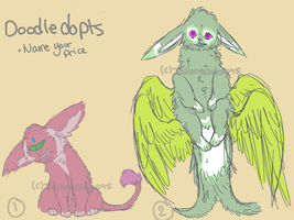 Doodledopts (2/2 OPEN) by TalonsAdopts