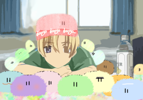 Sunohara loves dangos by dangounderthebridge