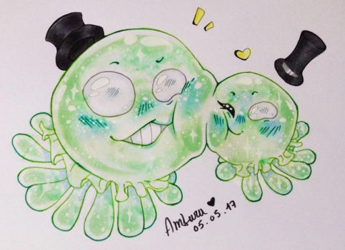 Sweet blobs by Ambrouillamini