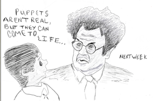 Dr. Steve Brule Sketch 2 by Trnal