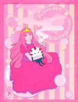 Princess Bubblegum by Alberloze