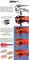 How to paint a hand by Sturby